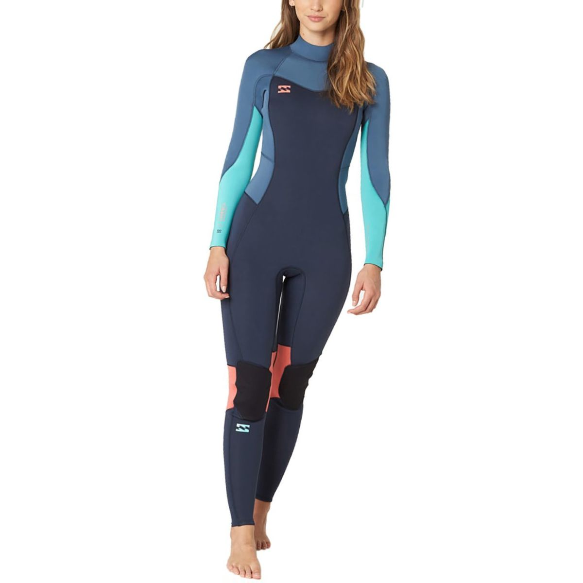 Billabong 3/2 Furnace Synergy Back-Zip Full Wetsuit - Women's