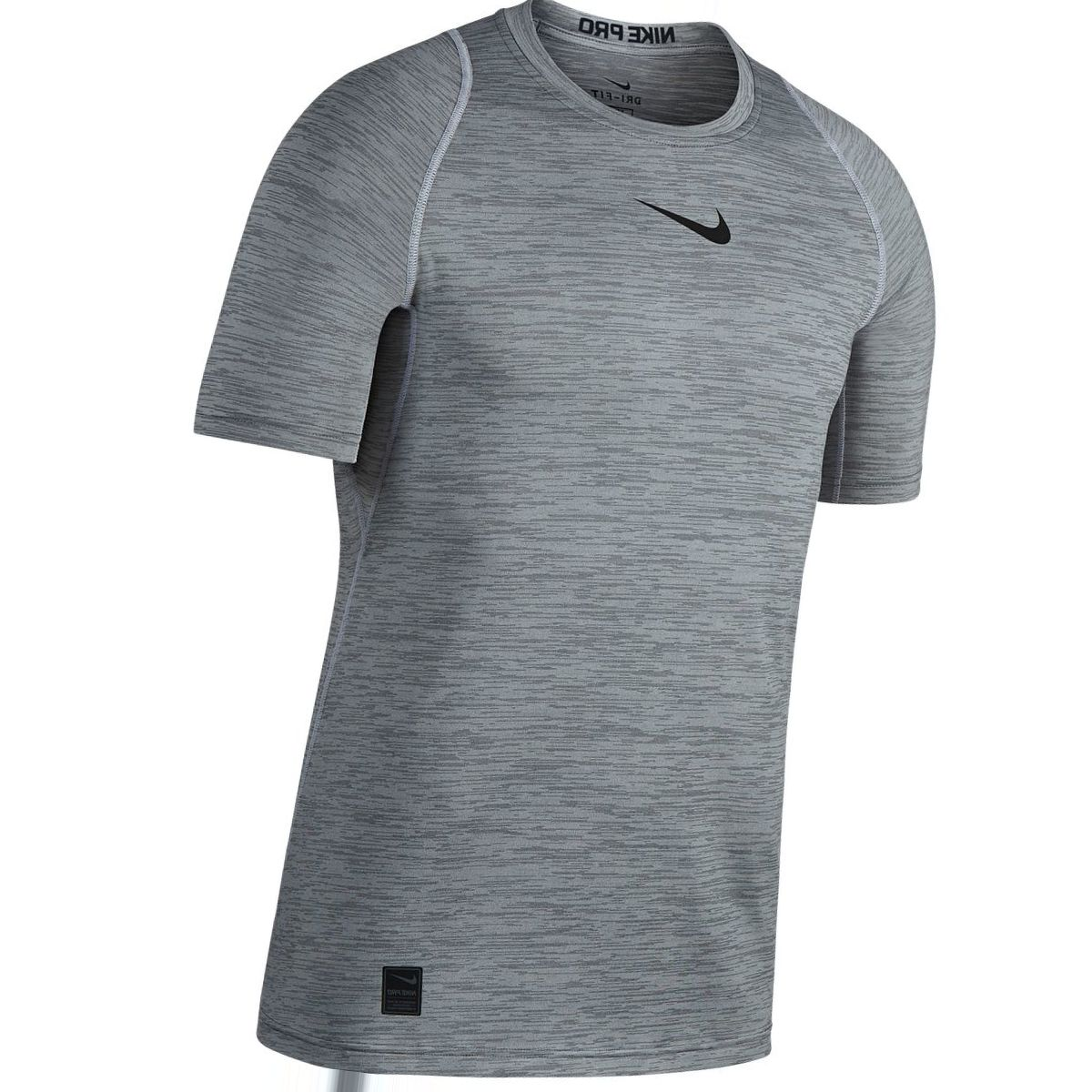 Nike NikePro Short-Sleeve Fitted Heather Top - Men's