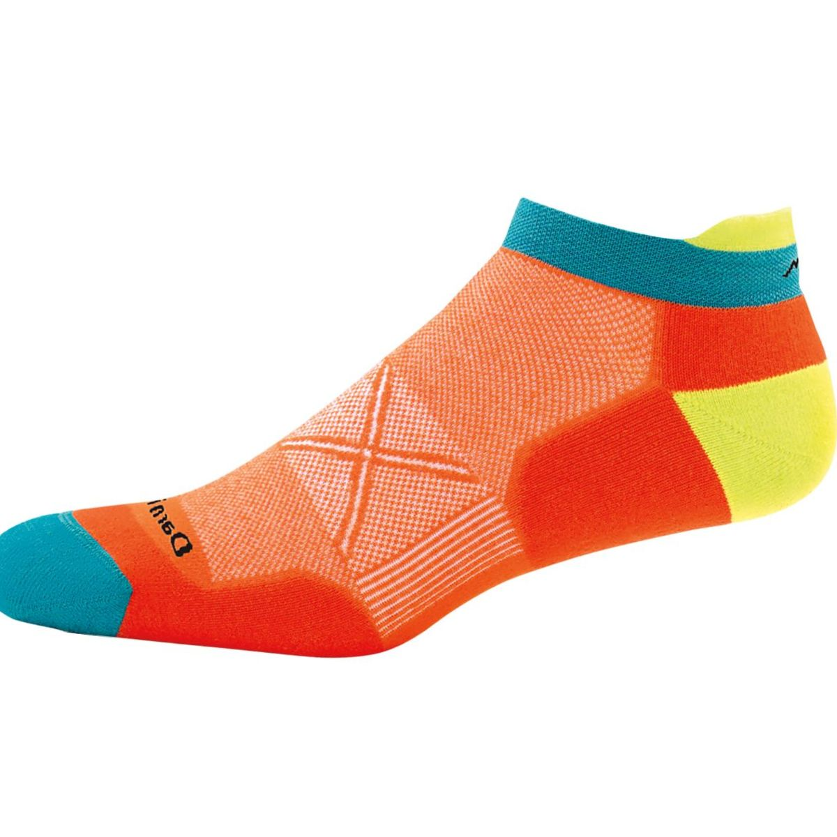 Darn Tough VertexStripe CoolMax No Show Tab Ultra-Light Sock - Men's