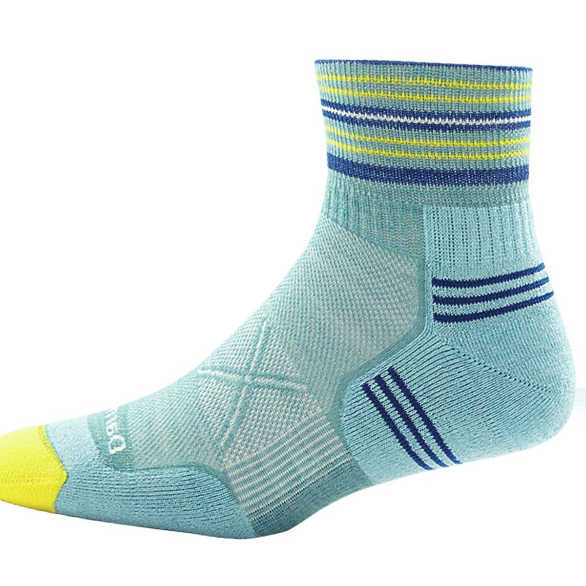 Darn Tough Vertex Stripe 1/4 Ultra-Light Sock - Women's