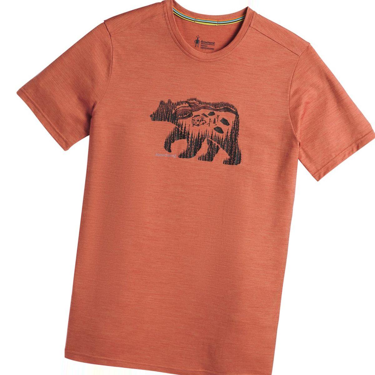 Smartwool Merino Sport 150 Bear Camp T-Shirt - Men's