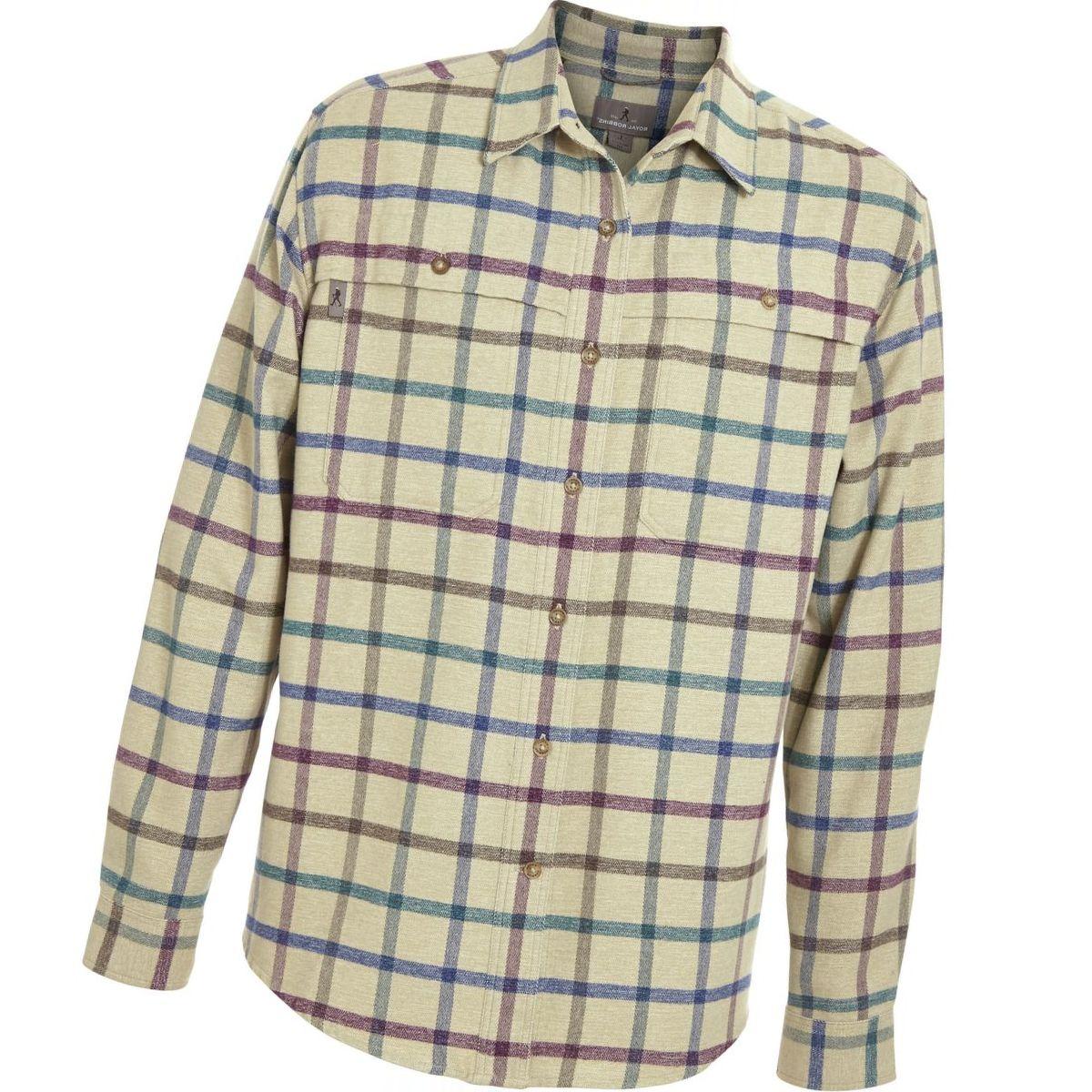 Royal Robbins Performance Flannel Overshirt - Men's