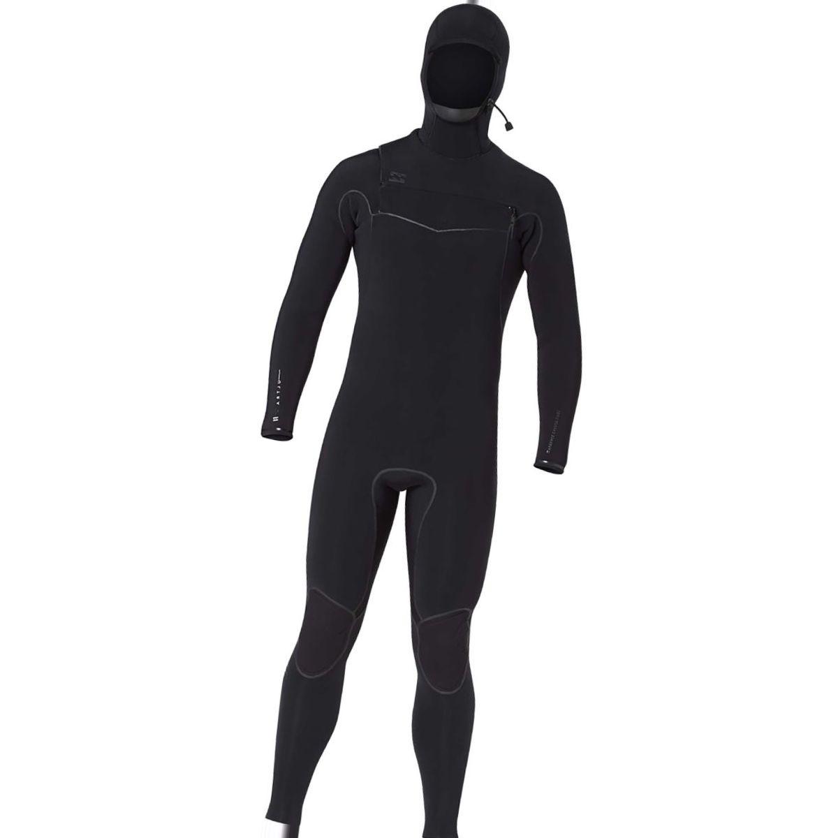 Billabong 5/4 Furnace Carbon Ultra Hooded Chest Zip Wetsuit - Men's