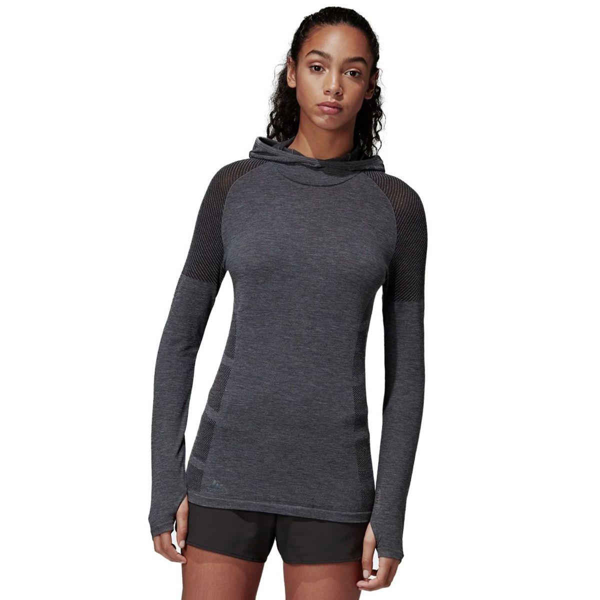 Adidas Ultra Climaheat Primeknit Hooded Shirt - Women's