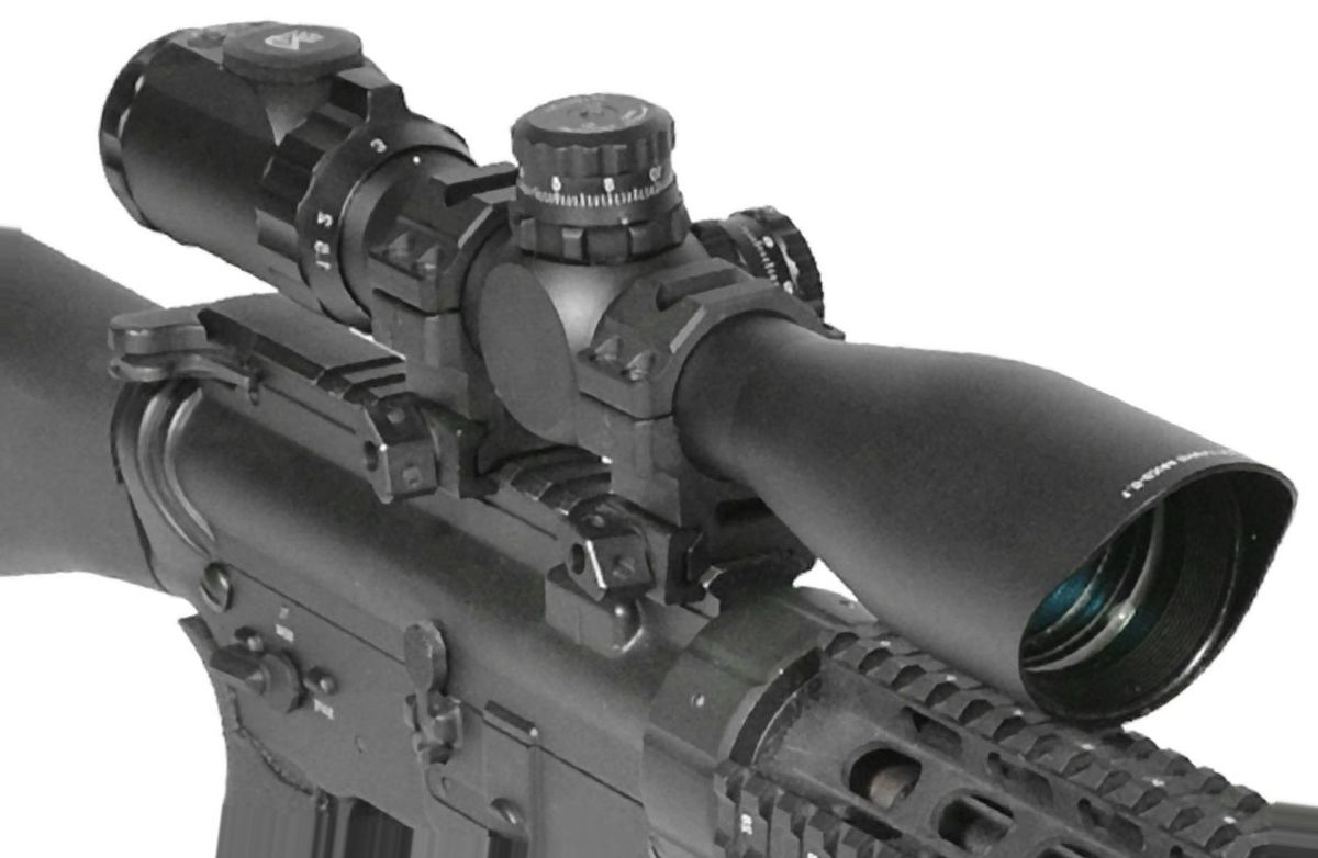 UTG Precision 30mm Riflescope with Rings