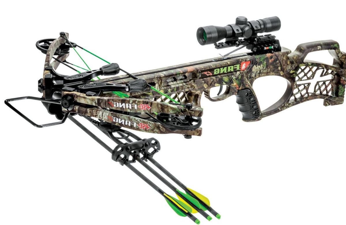 PSE Fang LT Crossbow Package