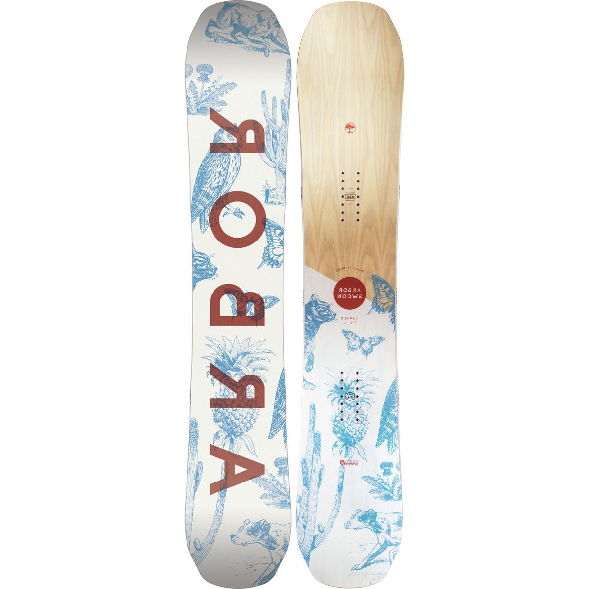 Arbor Swoon System Camber Snowboard - Women's