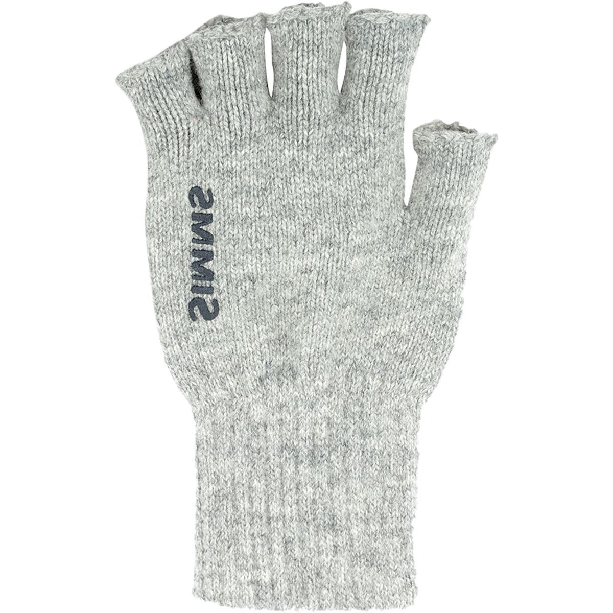 Simms Wool Half Finger Glove - Men's