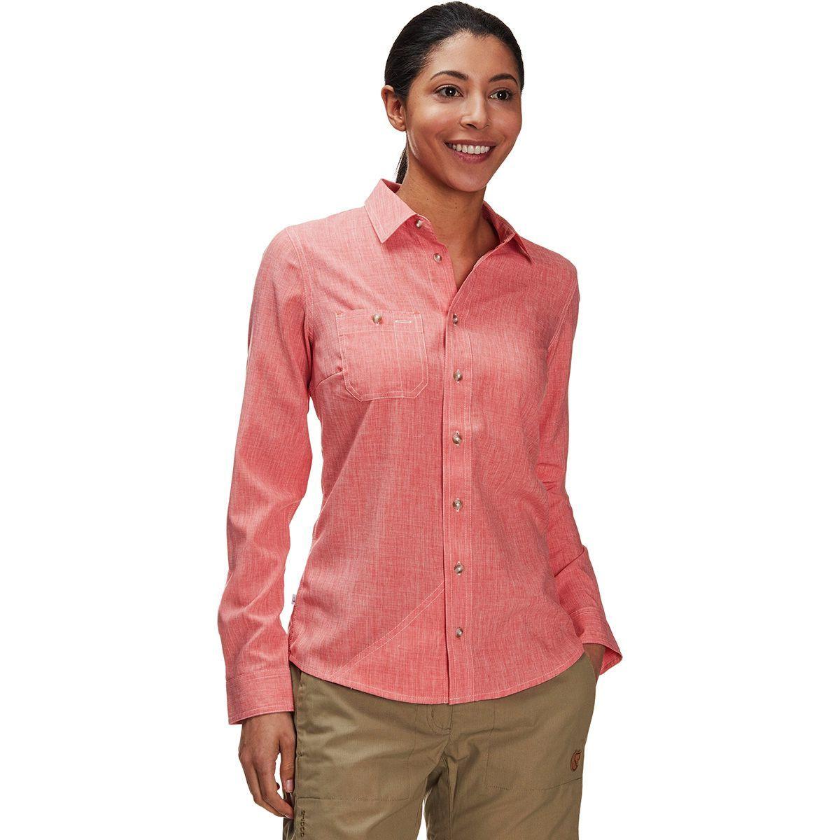 Orvis Tech Chambray Work Shirt - Women's