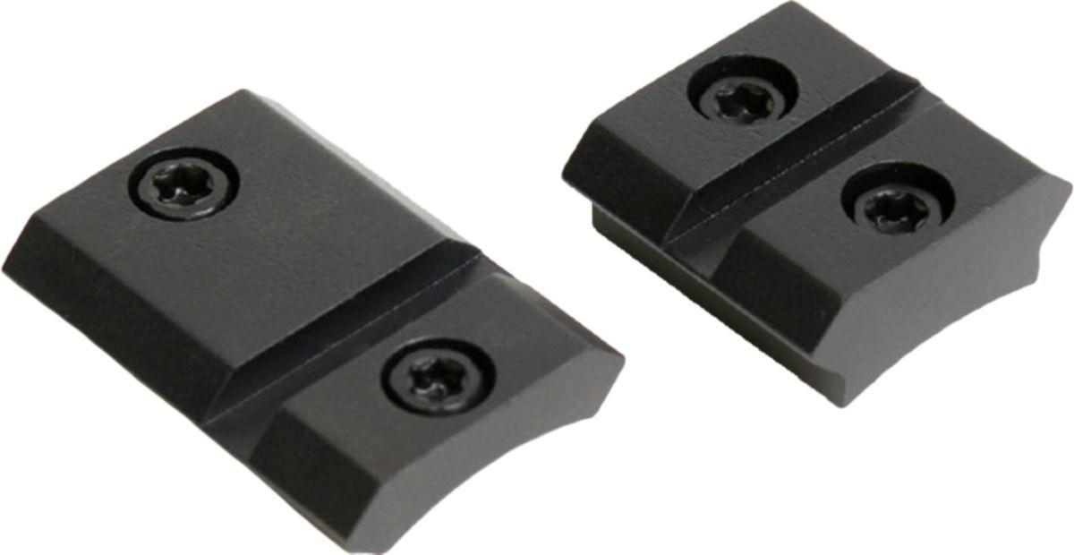 Warne Steel Weatherby Mark V (Non-Magnum) Two-Piece Matte Base