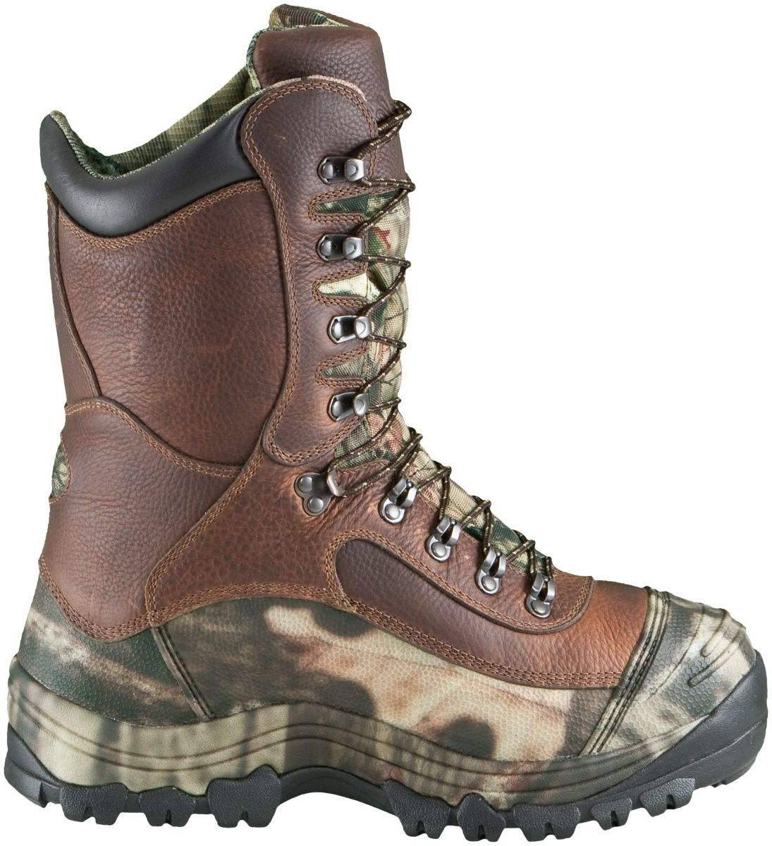 Cabela's Men's Predator™ Extreme Pac Boots – Brown/Mossy Oak® Break-Up Infinity®
