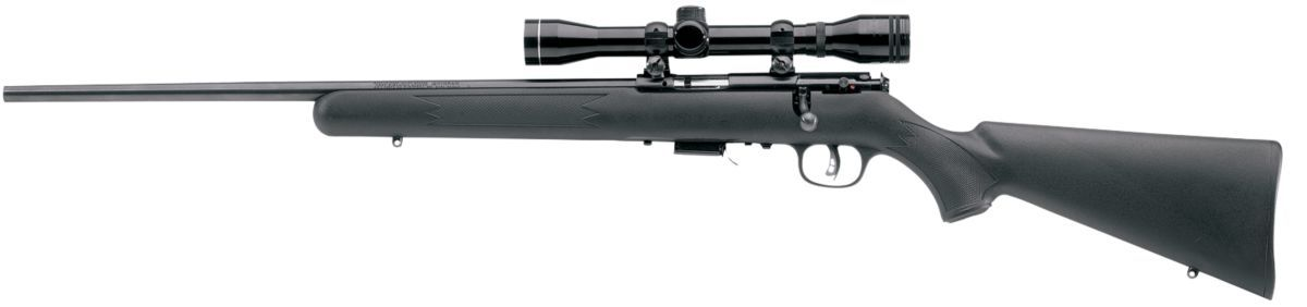 Savage® Arms Mark II and 93R17 Bolt-Action Rimfire Rifle/Weaver® Scope Combos
