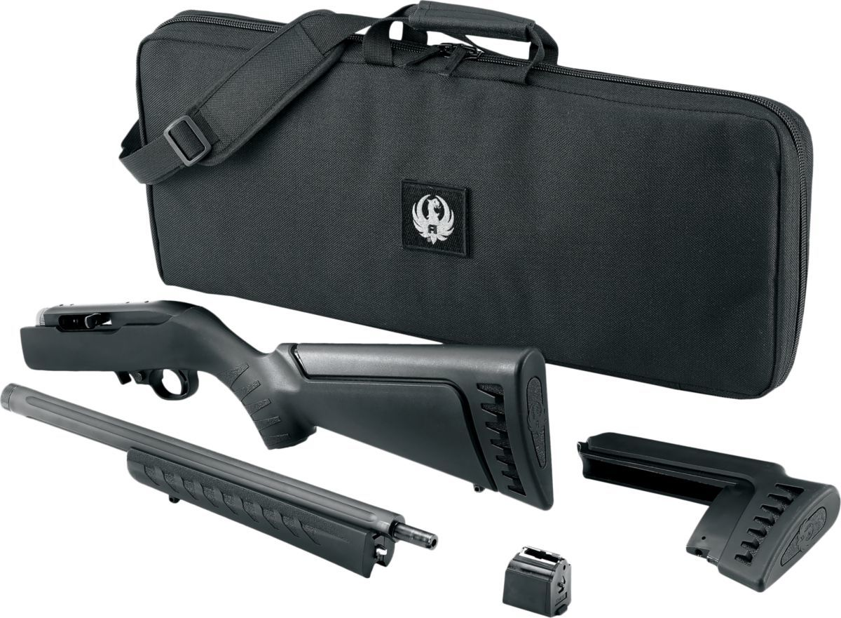 Ruger® 10/22® Takedown .22 LR Semiautomatic Rimfire Rifle with Heavy Fluted Target Barrel