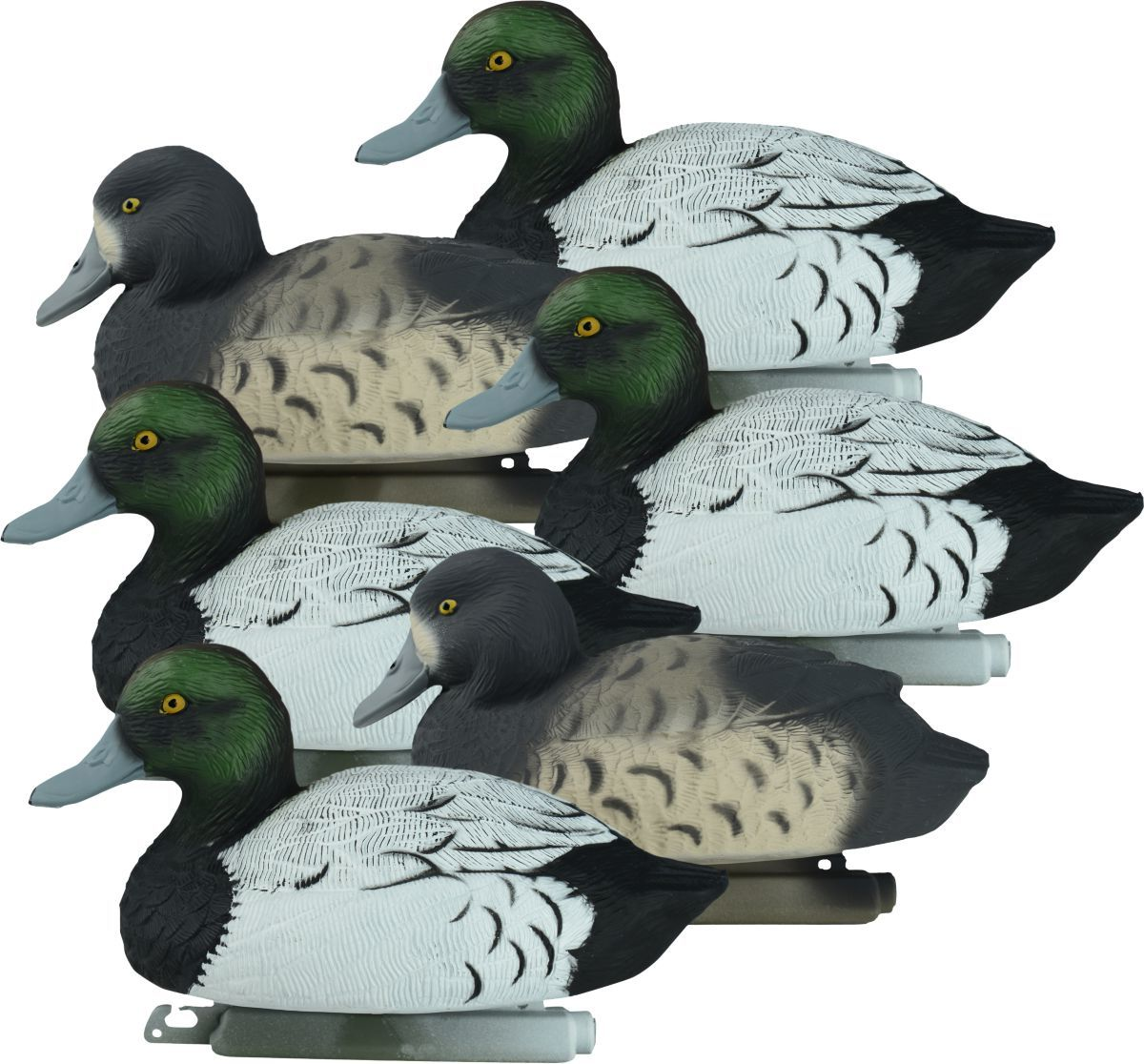 Higdon Outdoors Standard Bluebill Duck Decoys – Six-Pack