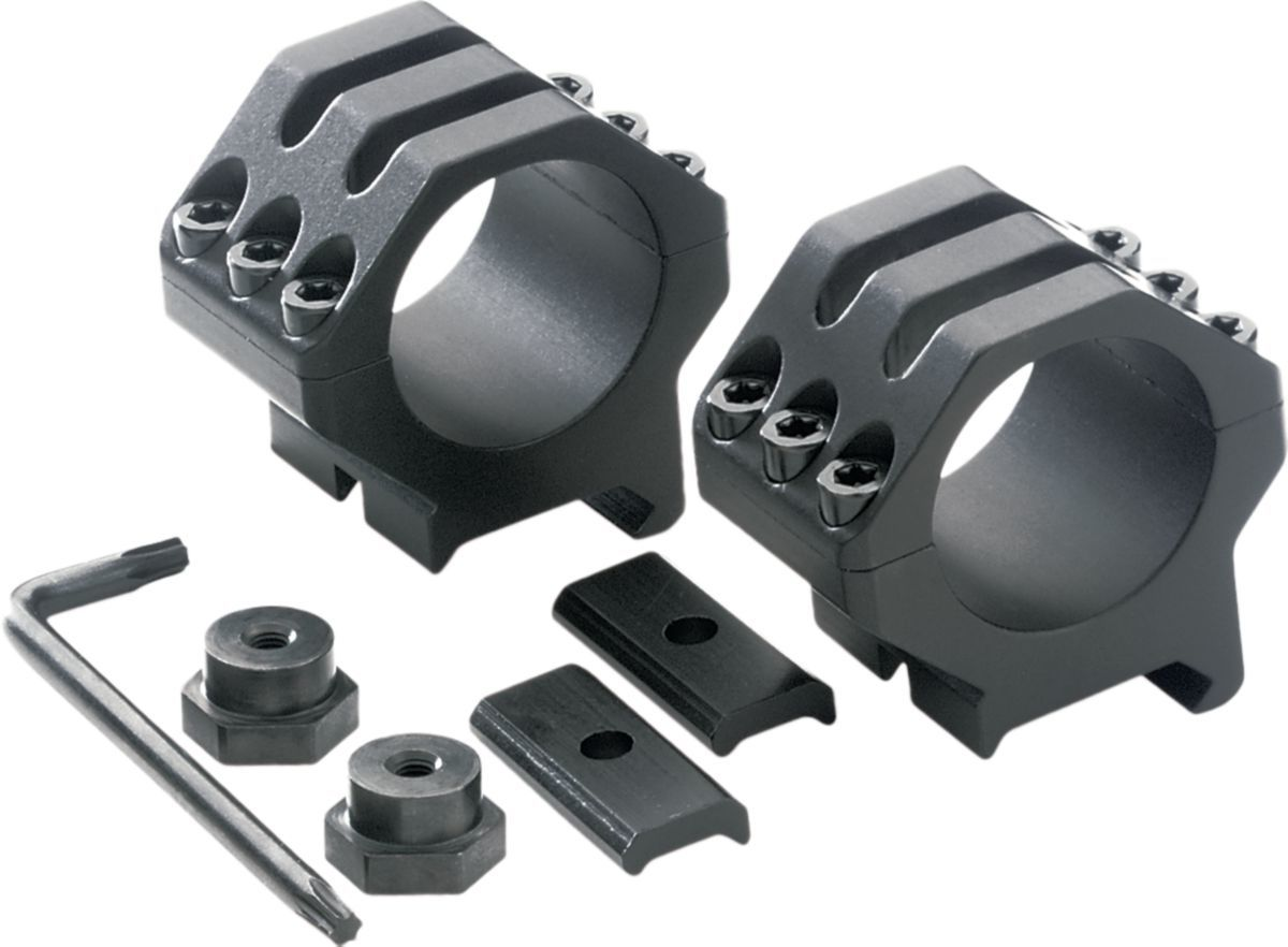 """BLACKHAWK!® Six-Hole Tactical 1"""" Weaver Rings – Medium"""