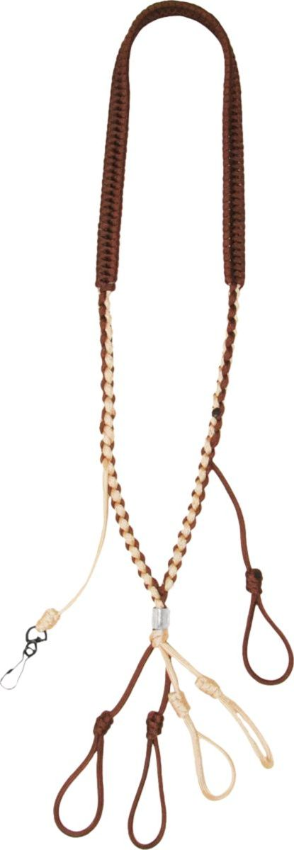 Heavy Hauler Sliding-Knot Lanyard – Tan/Brown