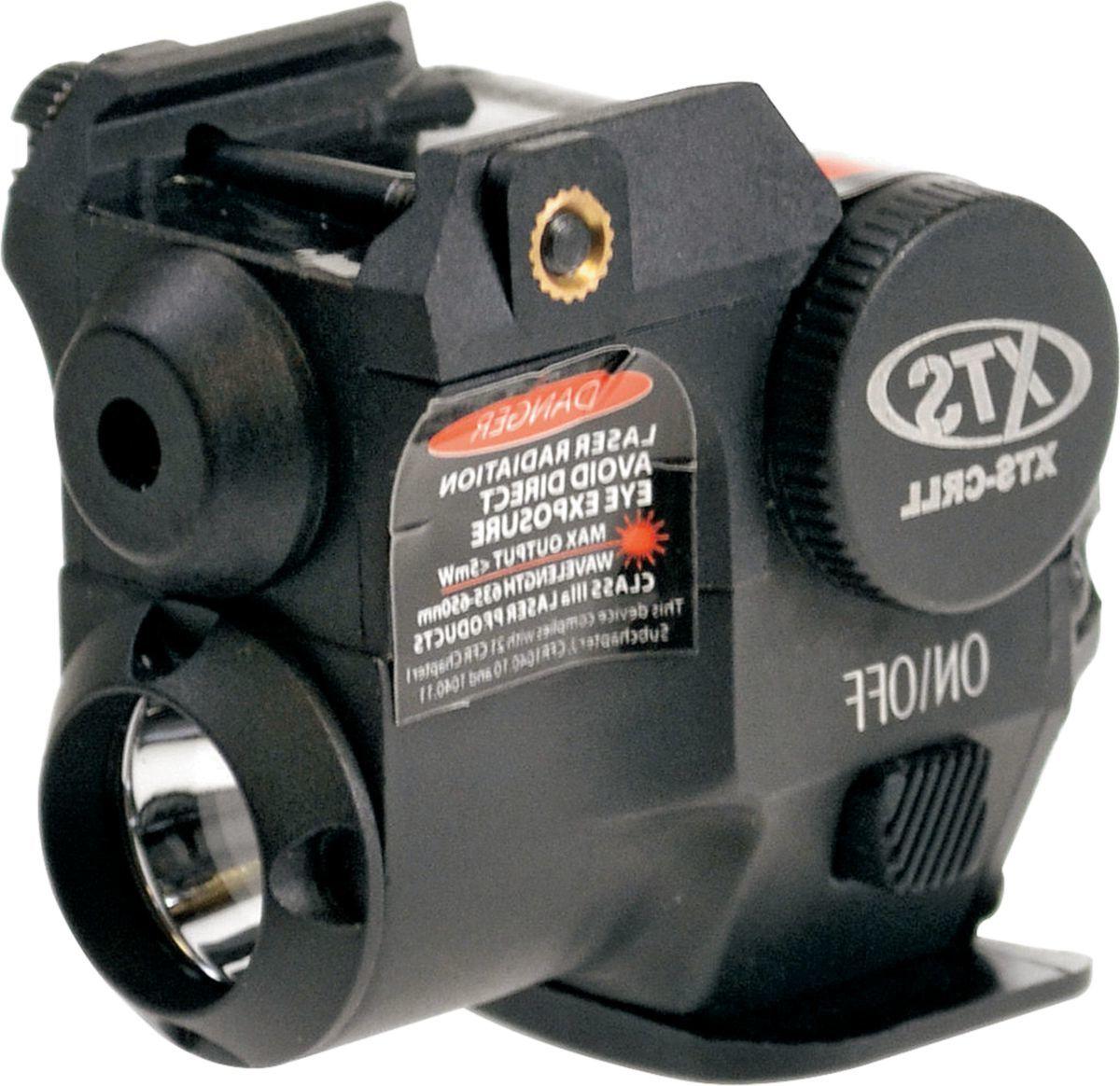 XTS Mini Red Pistol Laser/Flashlight Combo