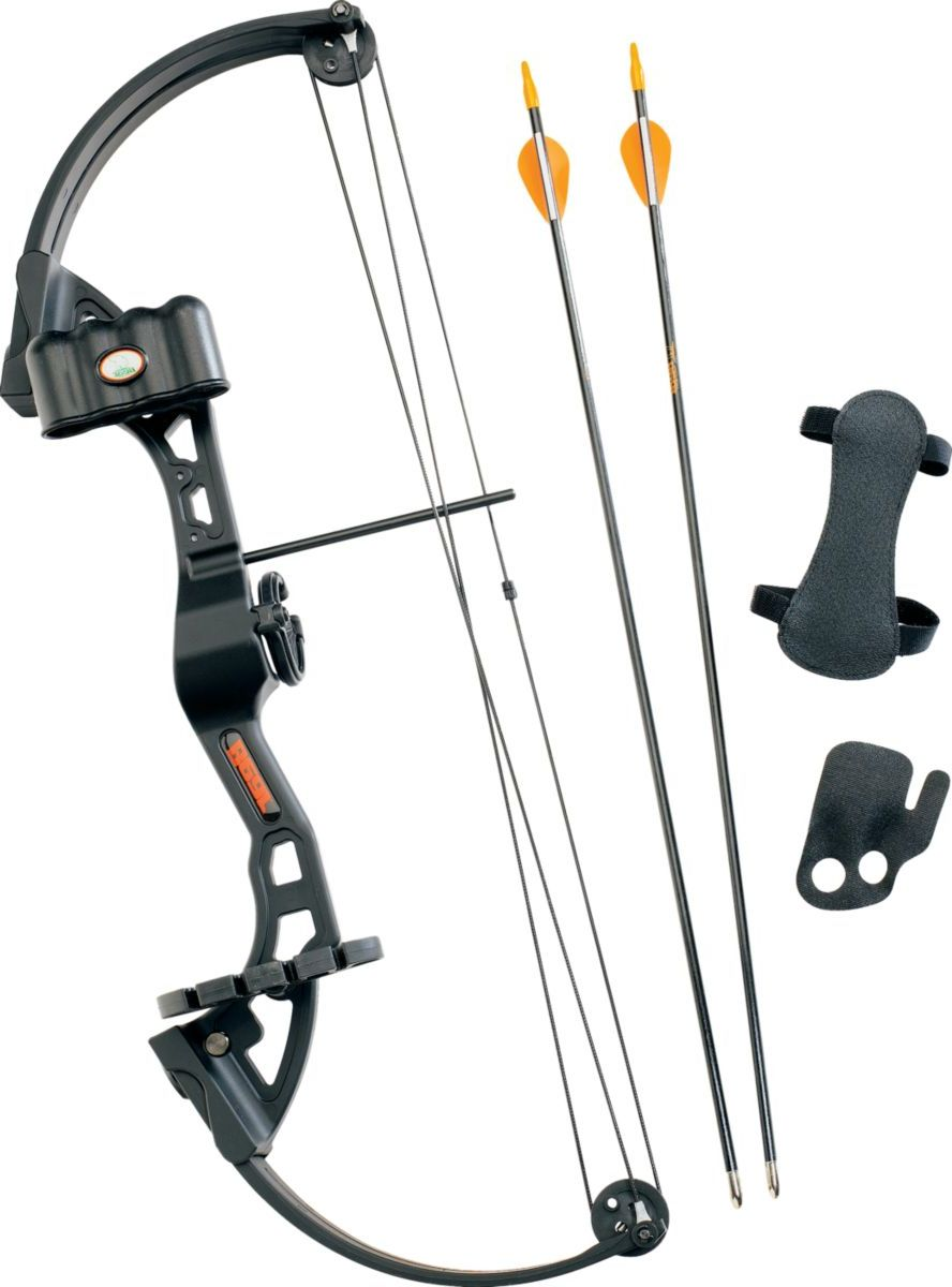 Bear® Archery Youth Brave Black Compound-Bow Package
