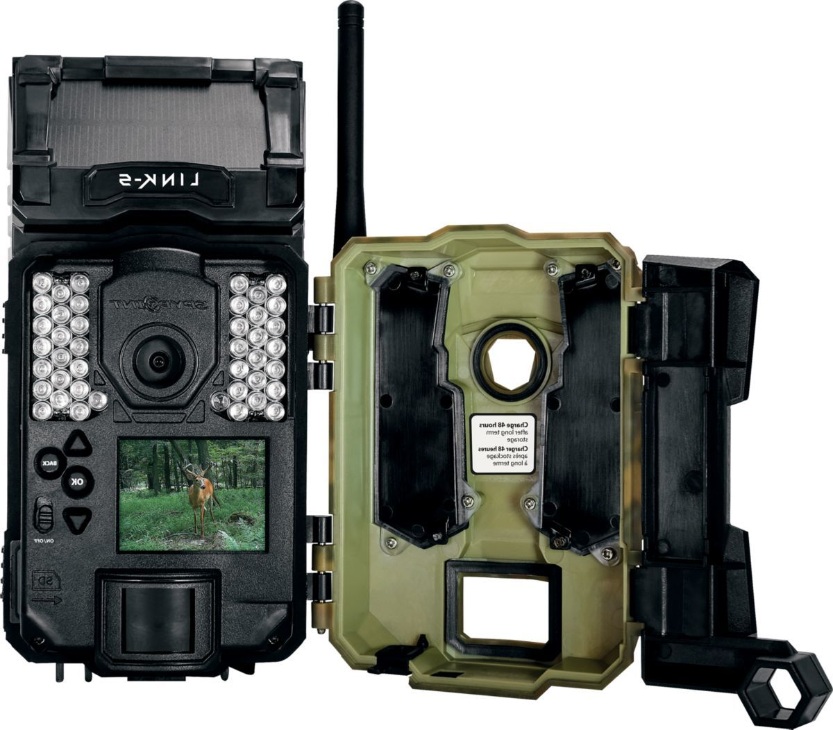 Spypoint® Link-S 12MP Solar Cellular Trail Camera