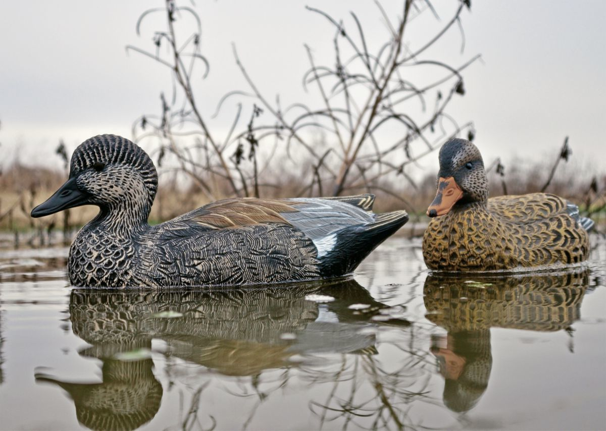Higdon Outdoors Battleship Foam Filled Gadwall Decoys