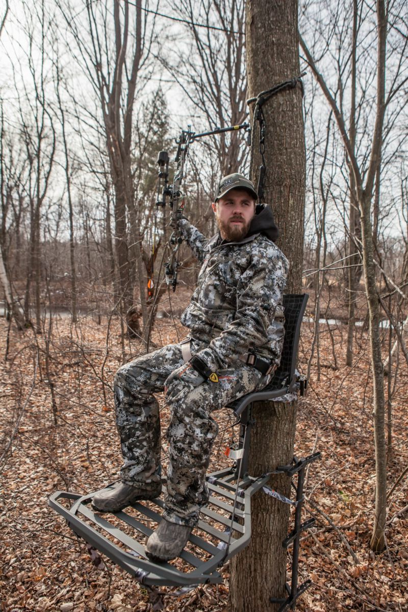Hawk Helium Kickback™ LVL Hang-On Treestand