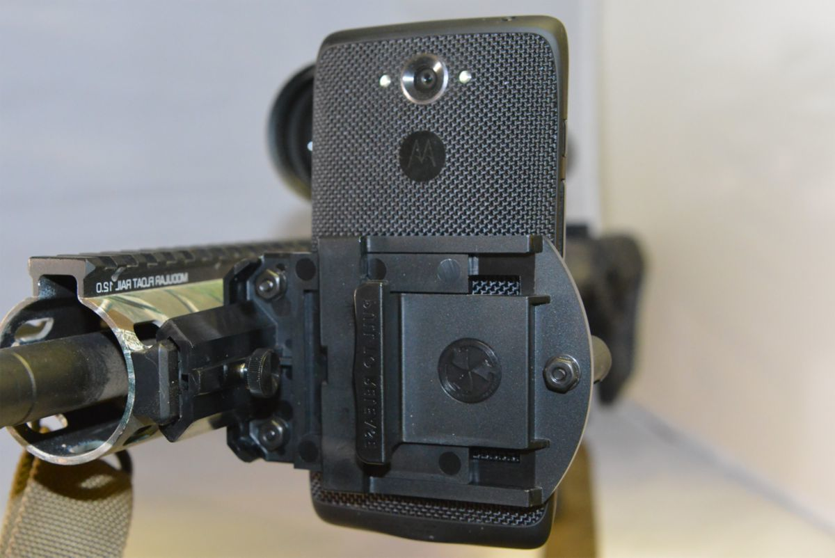 Convergent Hunting For Picatinny Rail Phone Gun Mount