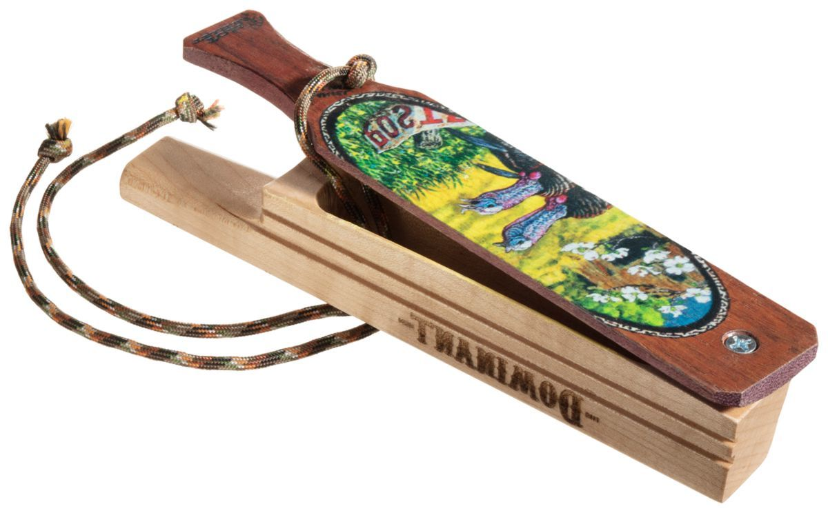 Tom Teasers Custom Calls Dominant Hen Brothers of Spring Special-Edition Box Turkey Call