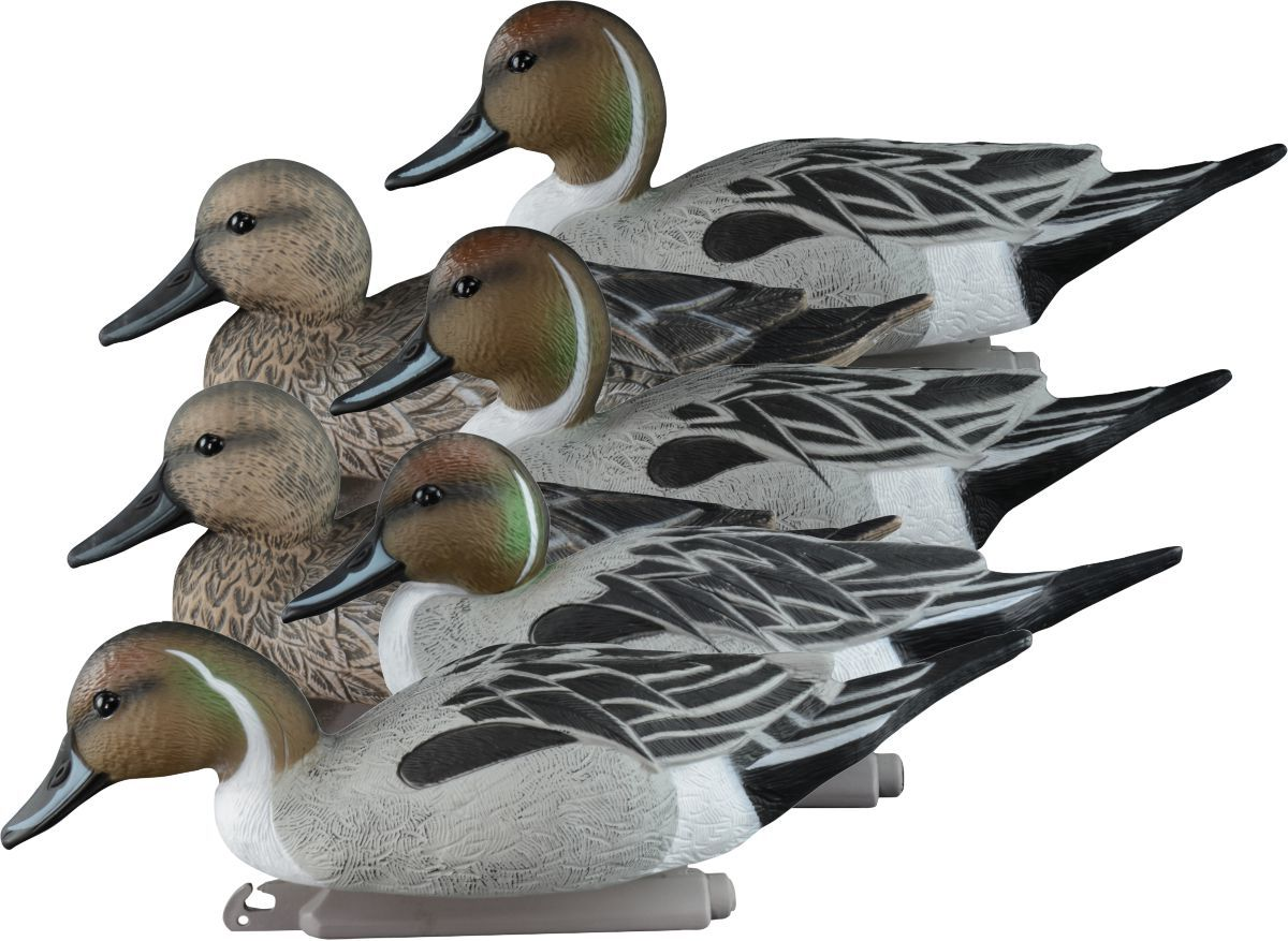 Higdon Standard Foam-Filled Pintail Decoys – Six-Pack