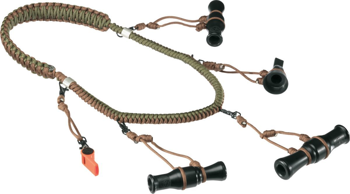 Cabela's Northern Flight® Braided Eight-Loop Duck-Call Lanyard