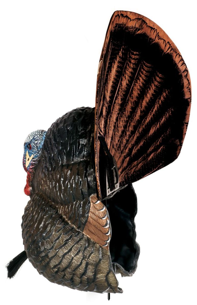 Flextone Thunder Creeper and Upright Hen Turkey Decoy Combo