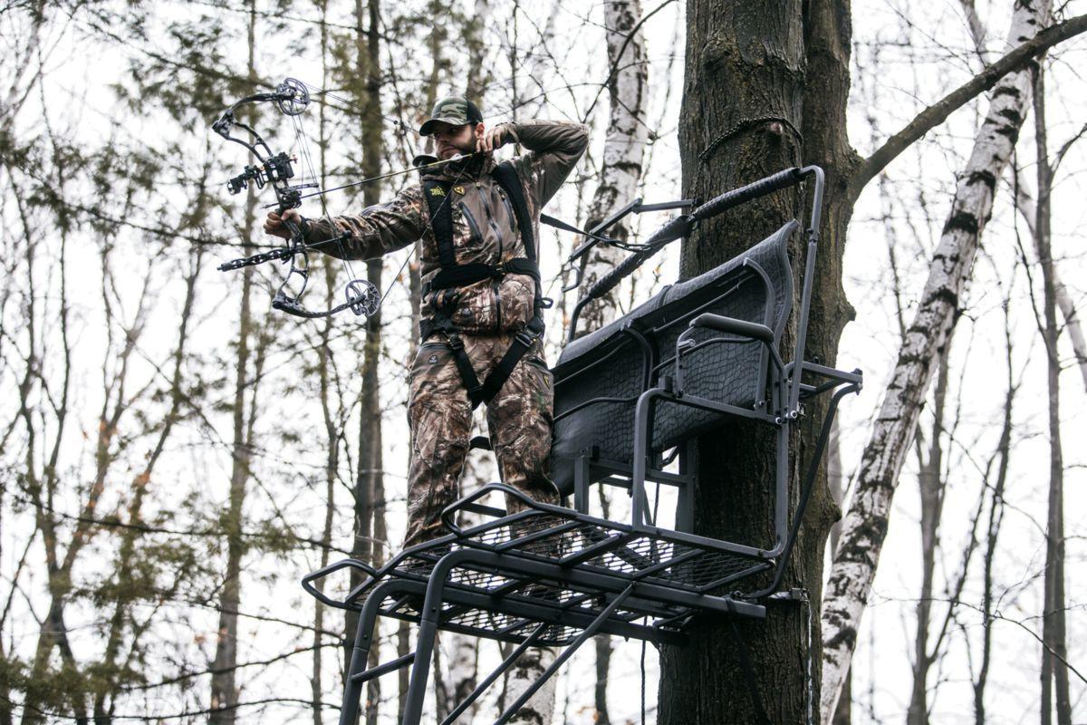 Hawk Sasquatch™ Two-Man Ladder Stand
