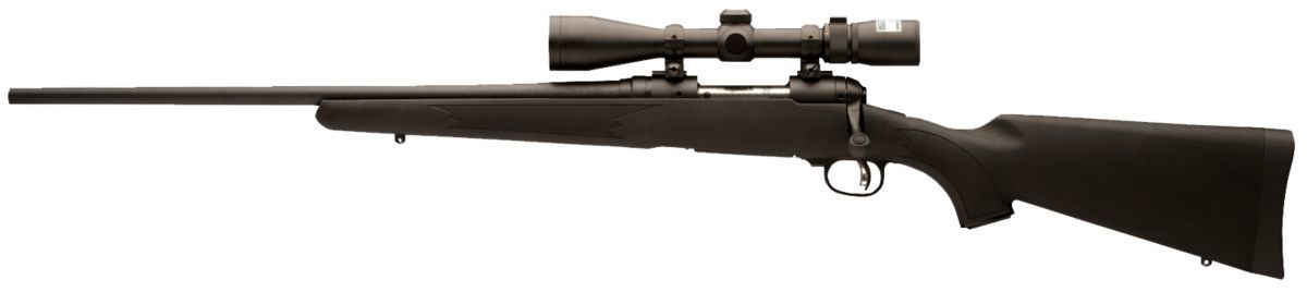 Savage® Arms 11/111 Trophy Hunter XP Bolt-Action Rifle with Nikon BDC 3-9x40 Scope Packages