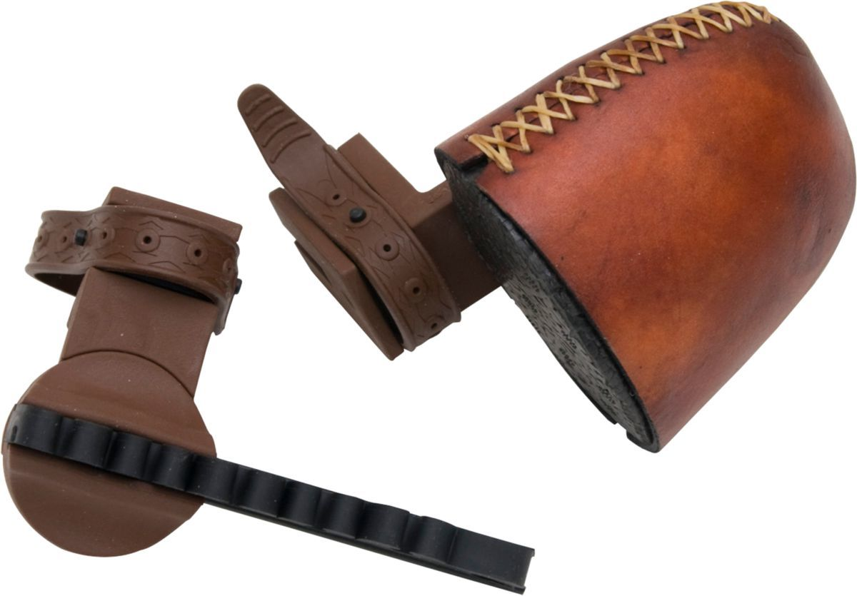 Selway Rawhide Strap-On Six-Arrow Quiver