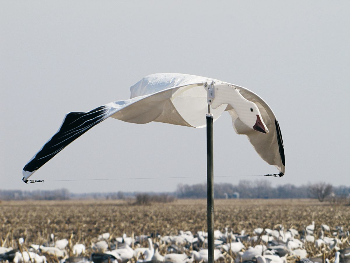 Heavy Hauler Cupped and Committed Snow Goose Decoy
