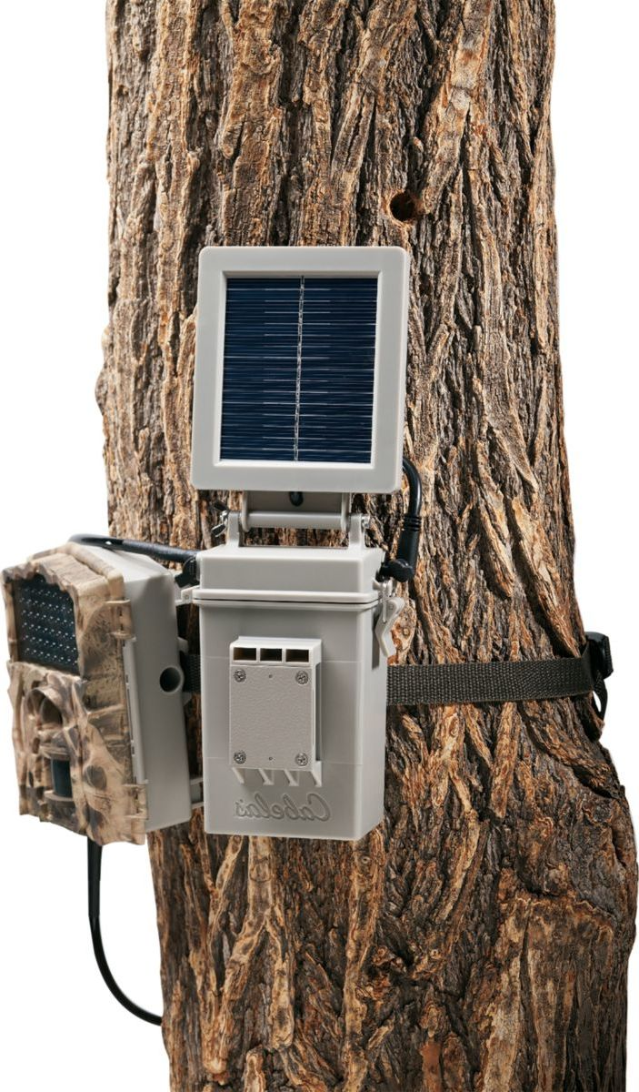 Cabela's External Battery Box/Solar Panel with 6-Volt Battery