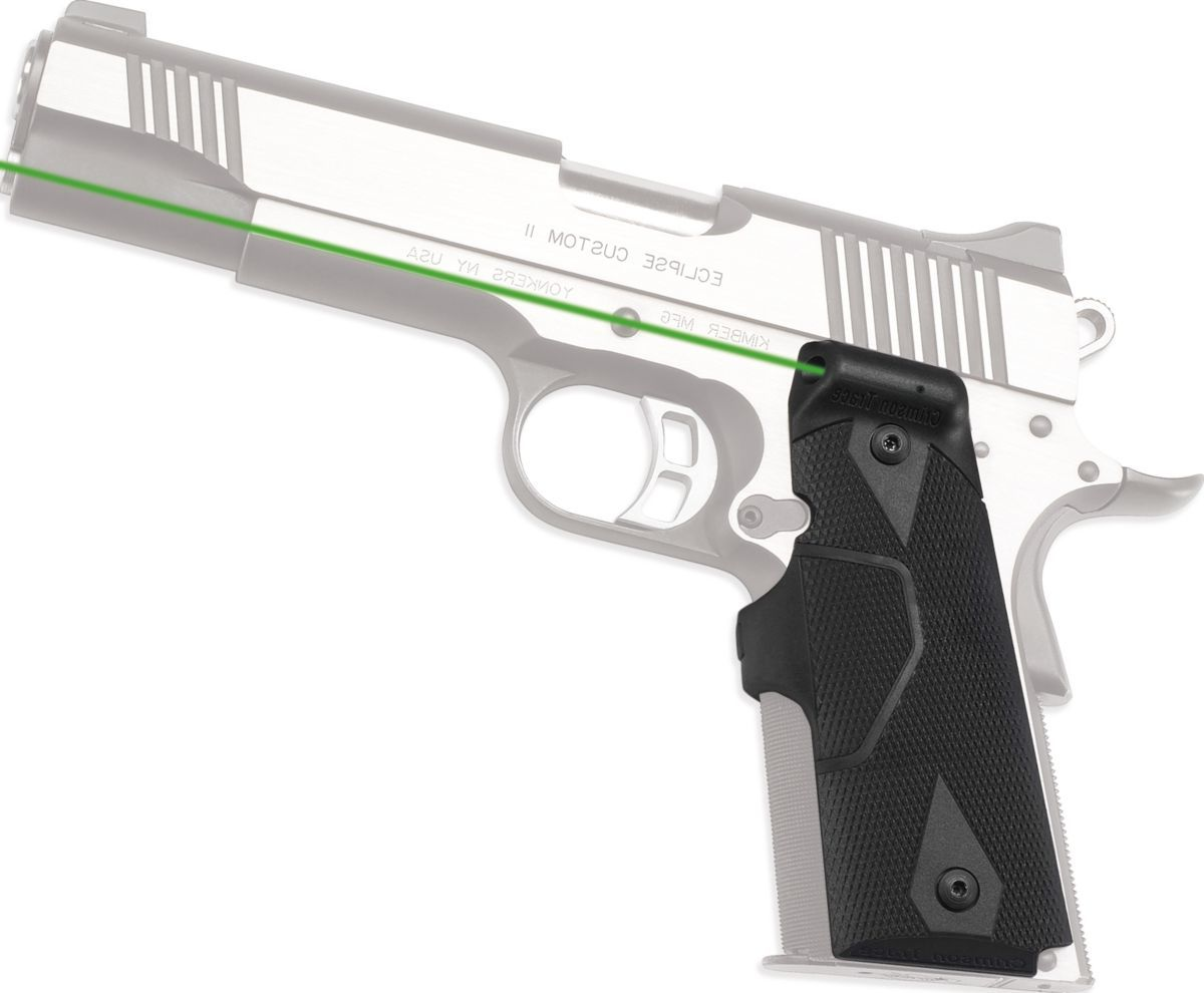 Crimson Trace® 1911 Green Lasergrips®