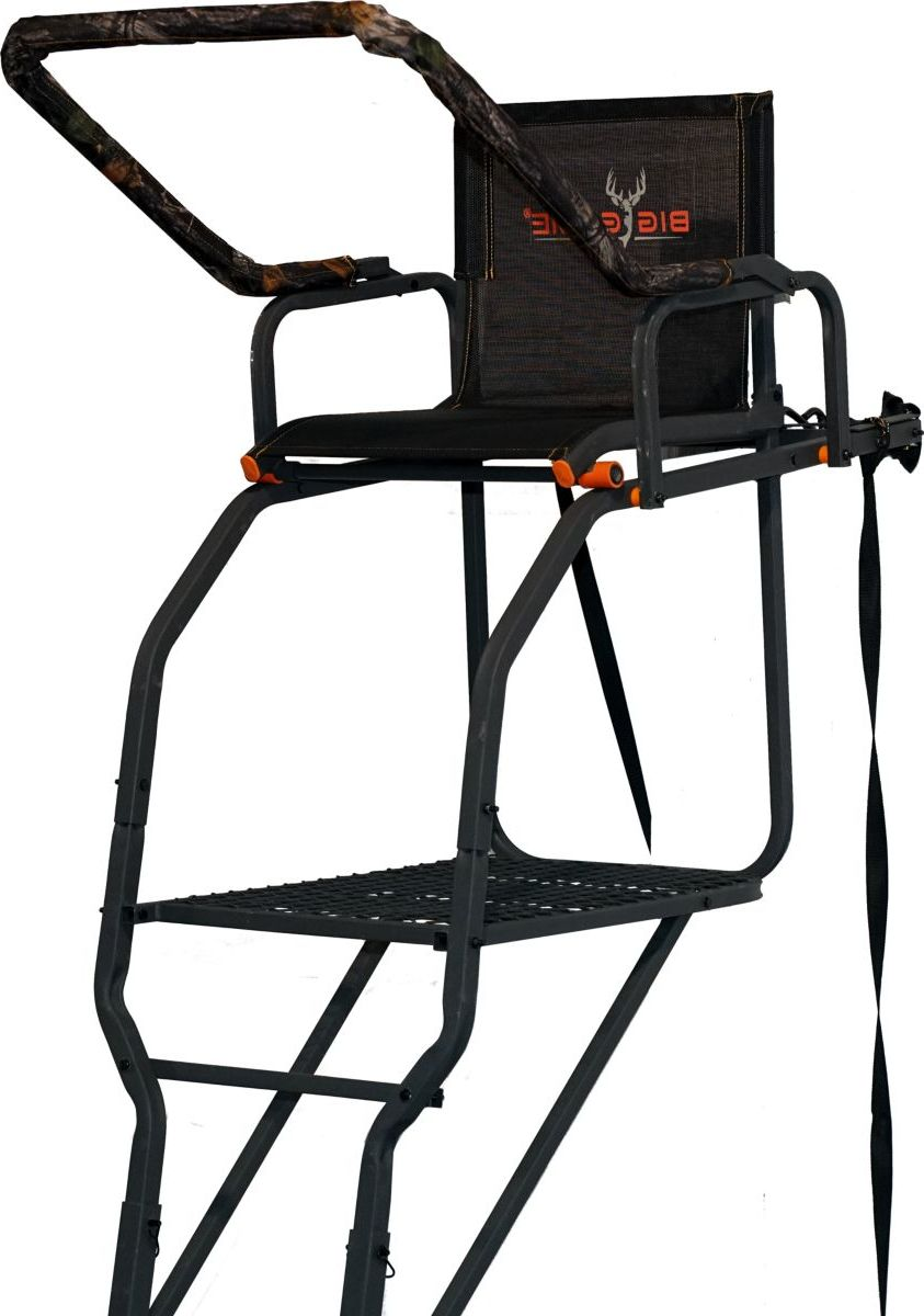 Big Game Treestands The Striker XT Ladder Stand