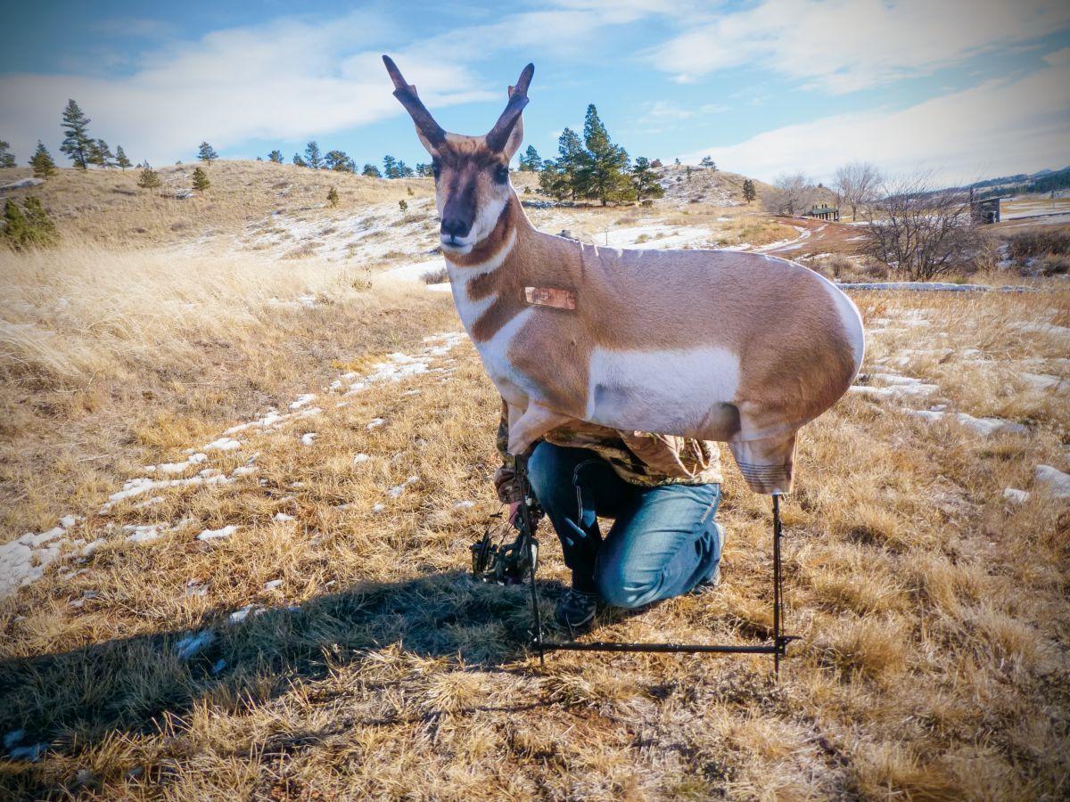 Montana Decoy Fred Eichler Antelope Decoy