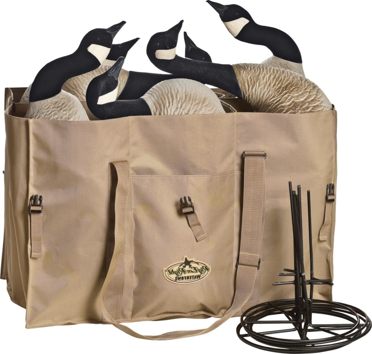 Rig'Em Right™ Six-Slot Full-Body Goose-Decoy Bag