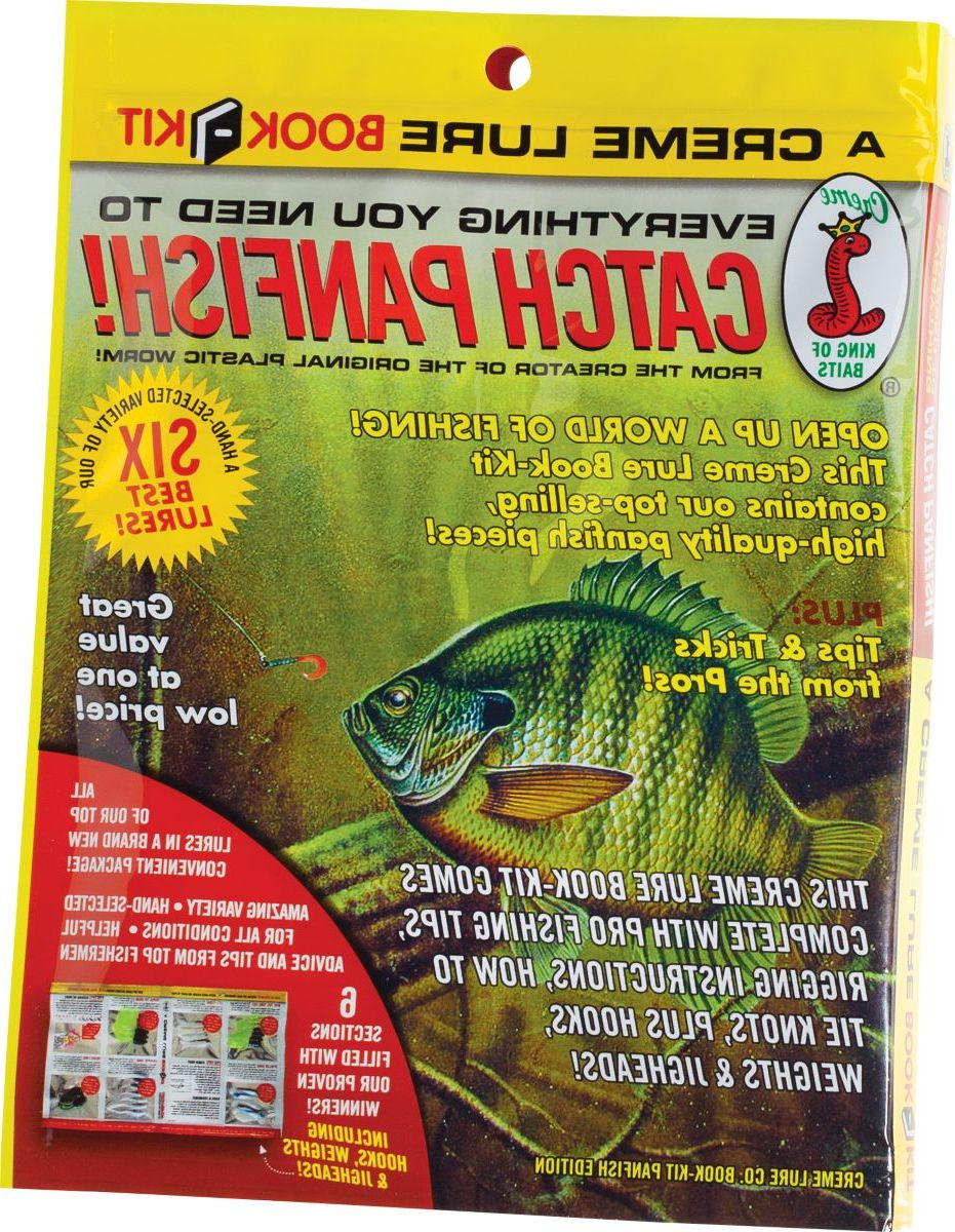Creme Lures Panfish Fishing Book Kit
