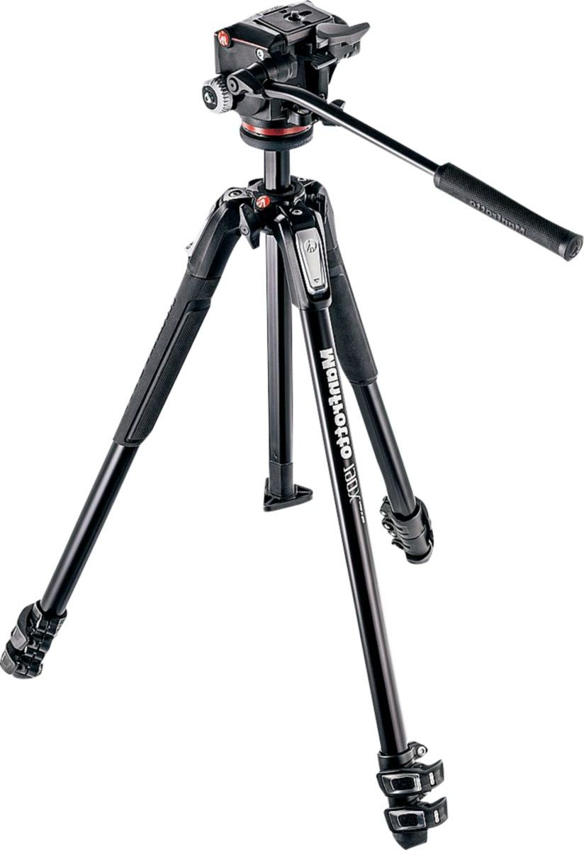 Manfrotto Tripod 190X Kit with 2-Way Head