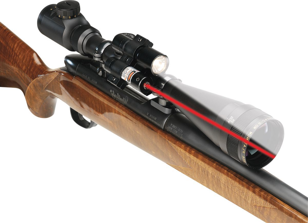 BSA Laser and Flashlight Combo with Mount