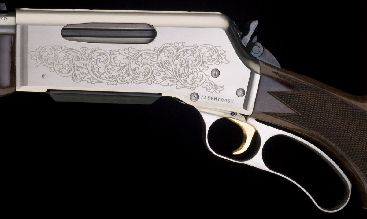 Browning® BLR White Gold Rifles