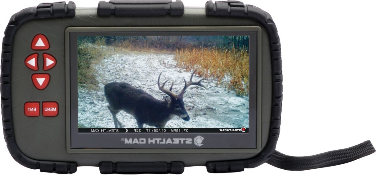 Stealth Cam Touch-Screen SD-Card Reader