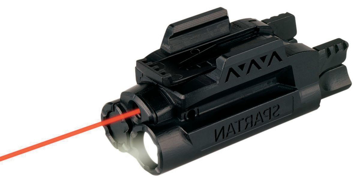 LaserMax Spartan™ Laser and Light Combo