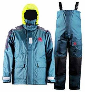 Navis Marine Coastal Jacket with pants fishing rain suit — Outdoormiks