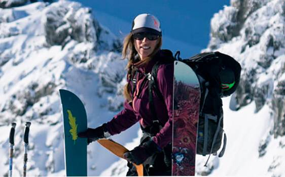 splitboard for woman