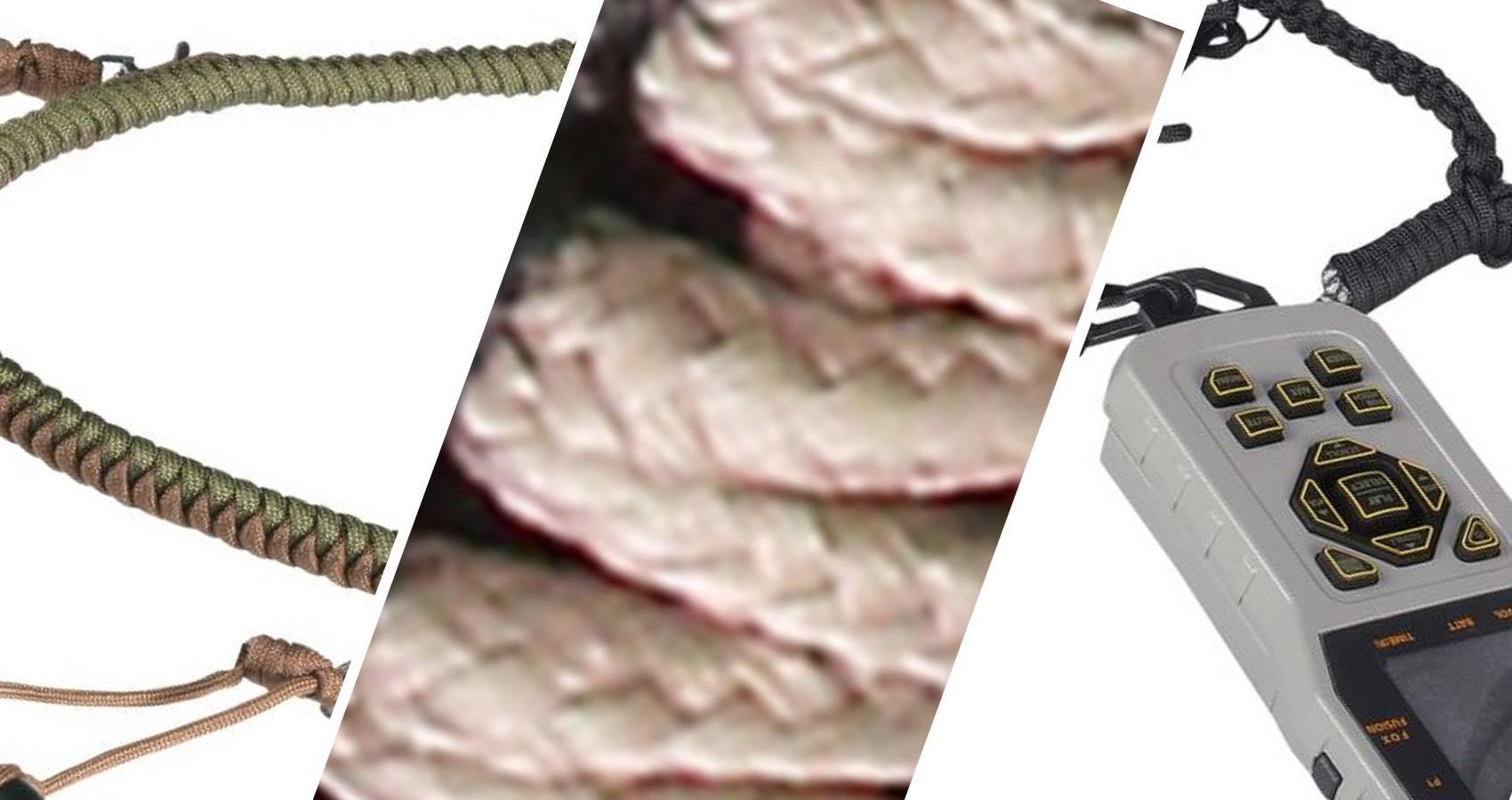 Predator /passants/ /Le meilleur pour doie Guguluza Duck Call Lanyard Premium tress/é /à la main Paracorde r/églable/ cerf ou Canard Jeu appels