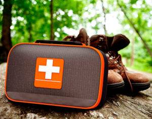first aid camping