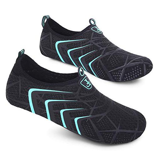 L-RUN Unisex Water Shoes Barefoot Skin Shoes for Run Dive Surf Swim Beach Yoga  Shoes for sand running